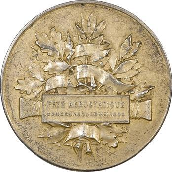 Béthune : médaille argent, Concours aérostatique, 1890