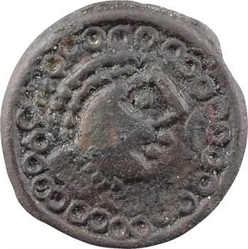 Suessions, potin au grand profil et au cheval, classe III, c.Ier s. av. J.-C.