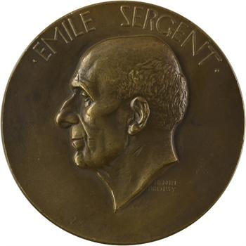 Dropsy (H.) : le Professeur Émile Sergent, 1937 Paris (Canale)