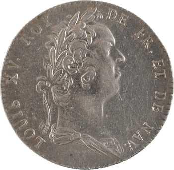Louis XIV, protecteur de l'Académie Française, par Duvivier, s.d. Paris