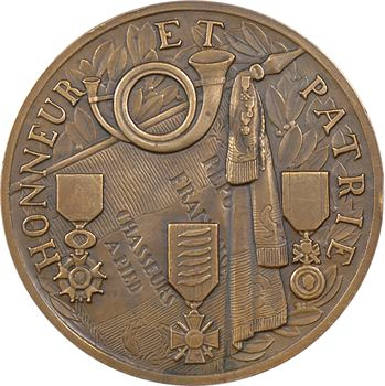 Renard (M.) : les chasseurs à pied, Honneur et Patrie, 1937 Paris
