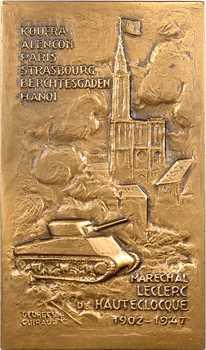 Colonies et France, le Maréchal Leclerc, par Guiraud, 1947 Paris