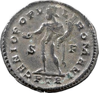 Dioclétien, follis, Trèves, 303-305