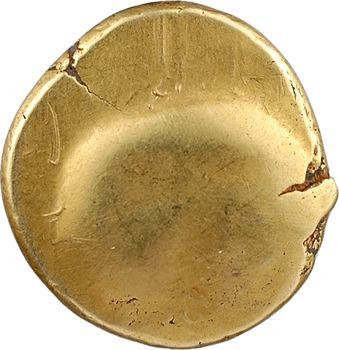 Ambiens, statère d'or uniface, classe II, c.60-50 av. J.-C.