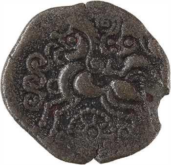 Vénètes, statère de billon, classe V à la roue, c.80-50 av. J.-C.