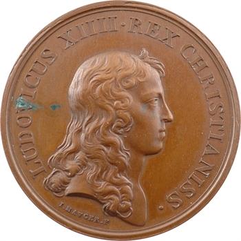 Louis XIV, sacre à Reims le 7 juin 1654, par Jean Mauger, 1654 [1845-1860] Paris