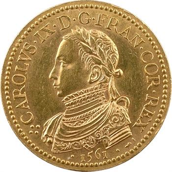 Charles IX, sacre à Reims le 15 mai 1561, Or, 1561 [après 1880] Paris