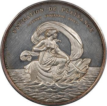 Second Empire, création du Yacht club de France, 1867 Paris