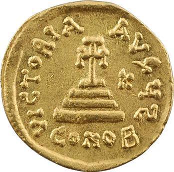 Héraclius et Héraclius Constantin, solidus, Constantinople, 6e officine, 629-632