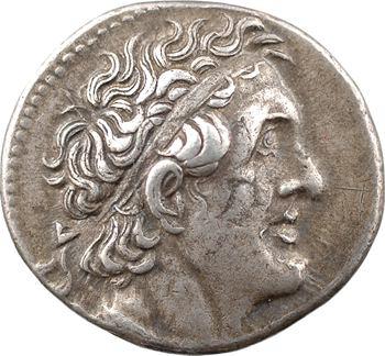 Égypte, Ptolémée II, tétradrachme, Alexandrie, 283-281 av. J.-C.