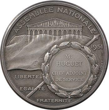 IVe République, Assemblée Nationale, par Bazor et Cochet (attribuée)1951 Paris