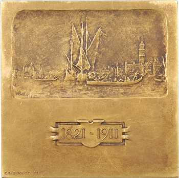 Italie, Venise, Félix Ziem, par A. Motti, dans sa boîte, 1911 Paris