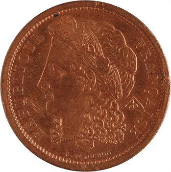 IIe République, concours de 5 francs par Farochon, 1848 Paris