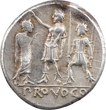 Porcia, denier, Rome, 110-109 av. J.-C.