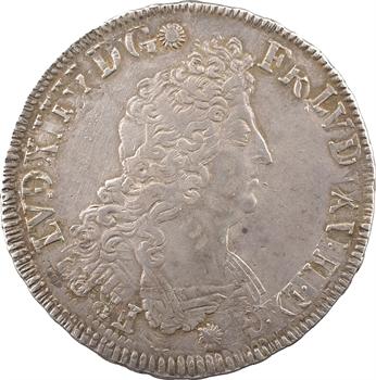 Louis XIV, écu aux insignes, 1702 Bordeaux