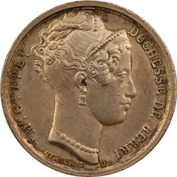 Henri V et la duchesse de Berry, 1828 Paris