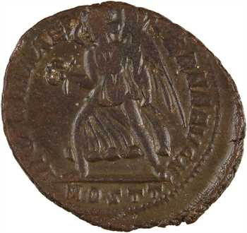 Maxence, follis, Ostie, 3e officine, 309-312