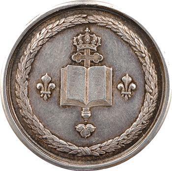 Louis XV, médaille argent par Marteau, s.d. Paris