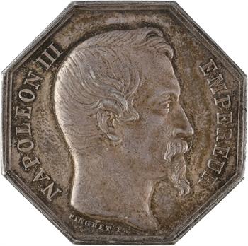 Réunion (île de la), jeton de la Banque de l'île de la Réunion, s.d. (1852-1860) Paris