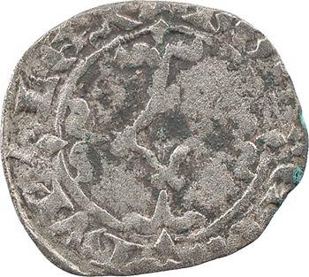 Bretagne (duché de), Jean IV, double à l'hermine, s.d. (c.1365-1373) Nantes