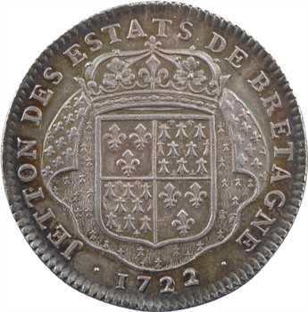 Louis XV, sacre à Reims le 25 octobre 1722, les États de Bretagne, 1722 Paris