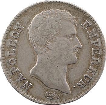 Premier Empire, 1 franc calendrier révolutionnaire, An 13 Bayonne