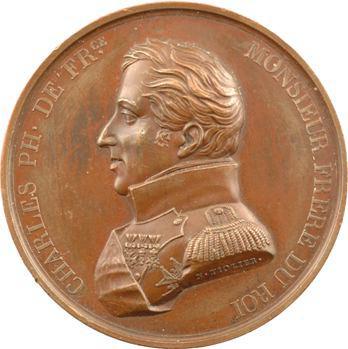 Charles-Philippe, colonel général de la Garde Nationale par Tiolier, 1815 Paris