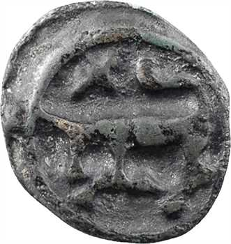 Turons, potin à la tête diabolique, c.80-50 av. J.-C.