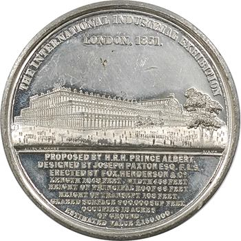 Royaume Uni, Victoria, Exposition Industrielle Internationale de Londres, 1851 Birmingham