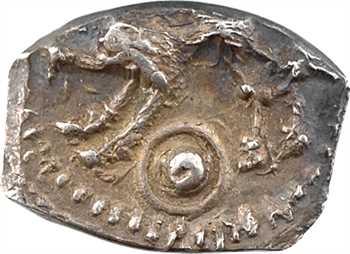 Rutènes, drachme à la petite tête bouclée et au sanglier, c.121-52 av. J.-C.