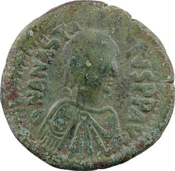 Anastase, follis, Constantinople, 1re officine, 491-518