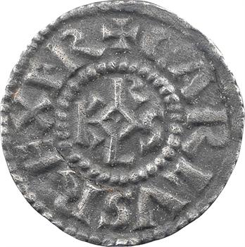 Charlemagne, denier avec titulature de Patrice des Romains, s.d. (c.781) Rome ou Ravenne ?
