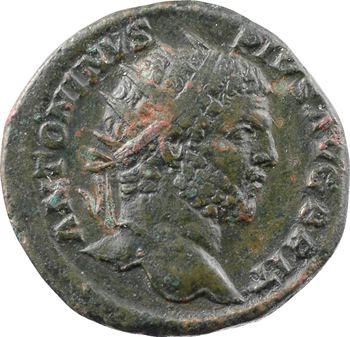 Caracalla, dupondius, Rome, 211