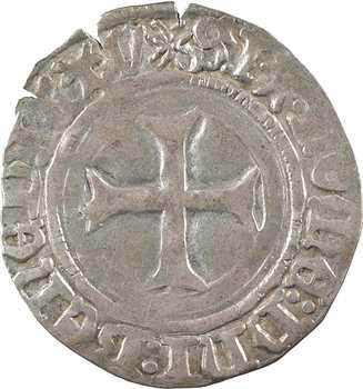 Bretagne (duché de), Jean V, blanc à la targe, s.d. (après 1436) Rennes