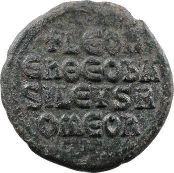 Léon VI, follis, Constantinople, 886-912