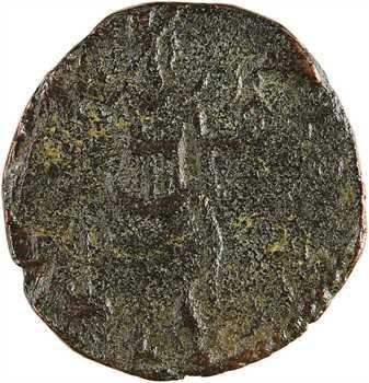 Pisidie, Commode César sous Marc Aurèle, bronze AE20, Antioche de Pisidie, 175-177