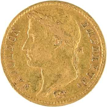 Premier Empire, 20 francs Empire, 1810 Turin