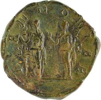 Trajan Dèce, sesterce, Rome, 250