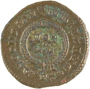 Constantin Ier, nummus, Ticinum, 313-314