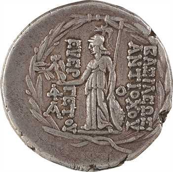 Syrie, Antiochos VII, tétradrachme, Antioche, 138-129 av. J.-C.