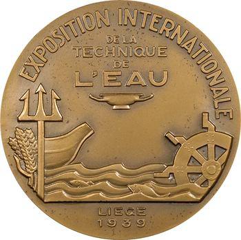 Belgique, Exposition internationale de Liège, technique de l'eau, par Guiraud, 1939 Paris