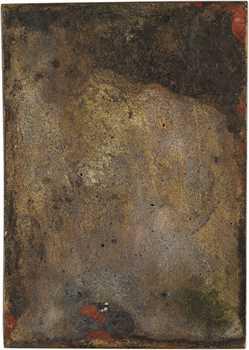 Vernier (S.É.) : portrait de jeune femme, fonte, 1891