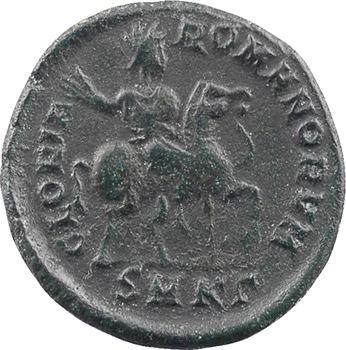 Théodose Ier, nummus, Cyzique, 3e officine, 392-394