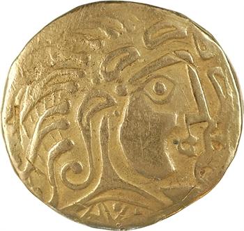 Parisii, reproduction du statère classe V, en or, pour bijouterie ou autre [moderne]