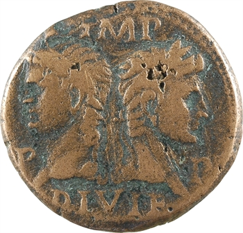 Nîmes, Auguste et Agrippa, as, Nîmes, c.10-14
