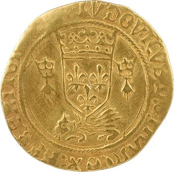 Louis XII, écu d'or au porc-épic de Bretagne, 2e type, Nantes