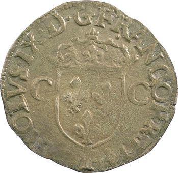 Charles IX, douzain aux 2 C 1er type, 1574 Dijon