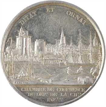 Louis-Philippe Ier, Chambre de Commerce de la Charente Inférieure, par Tiolier, s.d. Paris
