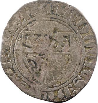 Dauphiné, Viennois (dauphins du), Louis II dauphin, petit blanc, s.d. Montélimar