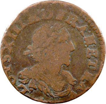 Louis XIII, double tournois de poids lourd, 1639 vallée du Rhône